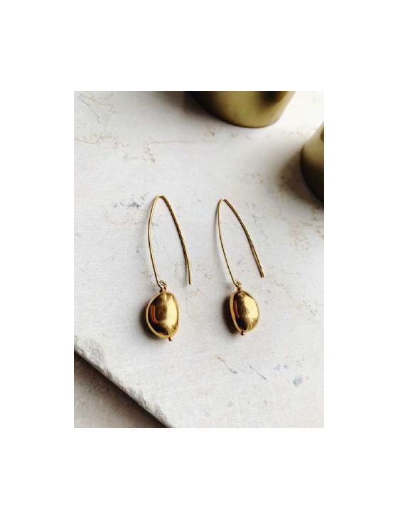 Gold Hook Earrings