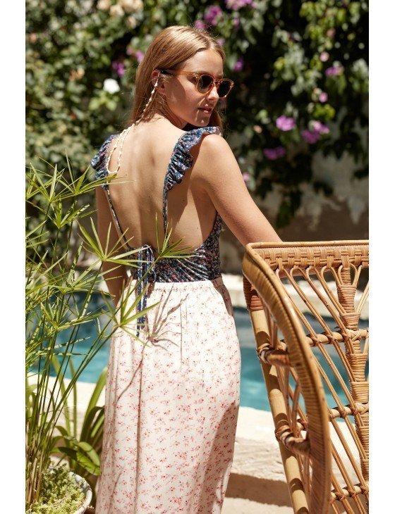 Skirt Carlita Cream Blossom Louise Misha